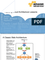 Applying Cloud Architecture Lessons