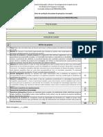 20118261640151anexo III - Pibiti - Formulario Avaliacao Do Projeto de Pesquisa