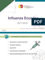 Influenza en la costa ecuatoriana