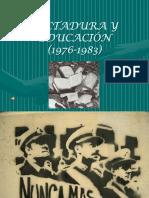 Dictadura y Educacion Con Sonido