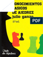 Julio Ganzo - Conocimientos basicos de ajedrez.pdf