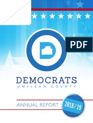Mclean County Fair 2020.Mcdems Annual Report 2018 2019 Democratic Party