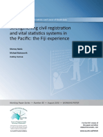 FJI_2013_Strengthening Civil Registration and Vital Statistics Systems in the Pacific - The Fijian Experience