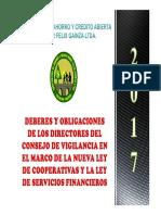 DEBERES Y OBLIGACIONES DE ORGANOS DE CONTROL 2017.pdf