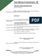 8406 18 Exonera Servidora Prazo Determinado (Ana Carolina de Souza Silva)