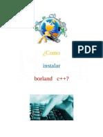 Instalacion de Borland