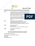Seedy Saturday Media Advisory