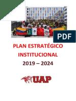 Plan Estratégico Institucional 2019 - 2024