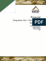 Proposal Pengadaan Alat 2015 Revisi