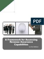 Framework for Assessing Your Revenue Assurance Operations