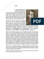 Biografía Juan Jose Arevalo