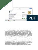 Historia de La Salud y La Enfermedad 400 Ac Con El Naturalismo Hipocrático