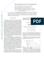 Evaluation of Two Different Entanglement Measures on a Bound Entangled State