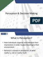 Perception Decision Making