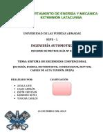 informe metrologia