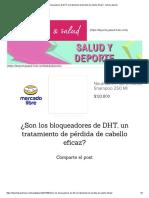 ¿Son Los Bloqueadores de DHT, Un Tratamiento de Pérdida de Cabello Eficaz_ - Salud y Deporte