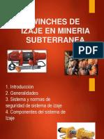 Winches de Izaje en Mineria Subterranea