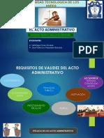 Diapositivas de Acto Administrativo[1]