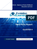 CHC50113 Cluster 4 Third Party Report v2.0