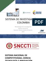 2 Sistema de investigación en Colombia Metodologia.pdf