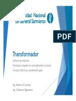 Presentación guía Circuitos Eléctricos - Transformador.pdf