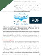 Pengertian Cloud Computing, Jenis, Cara Kerja, Keuntungan Dan Kerugian • Trik Komputer Gratis
