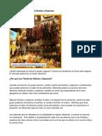 Como Poner Una Tienda de Hierbas y Especias - Guía de Negocio