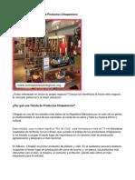 Como Poner Una Tienda de Productos Chiapanecos - Guía de Negocio