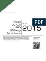 NextG USB TurboTenna Manual
