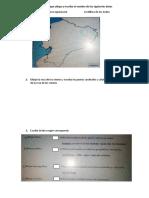 En El Siguiente Mapa Ubique y Escriba El Nombre de Los Siguientes Datos