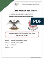 INFORME LEVANTAMIENTO TOPOGRAFICO CON ESTACION TOTAL.docx