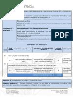Programa Fortalecimiento Formacion Formadores 2018