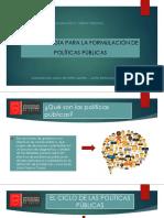 Metodología Para La Formulación de Políticas Públicas