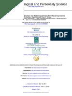 Social Psychological and Personality Science 2011 Mortillaro 262 71