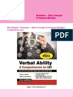 Disha Publication Grammar Basic Concepts and Common Mistakes