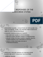 Toxic Responses of the Endocrine System