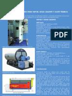 Catálogo Calderas Pirotubulares sep 09