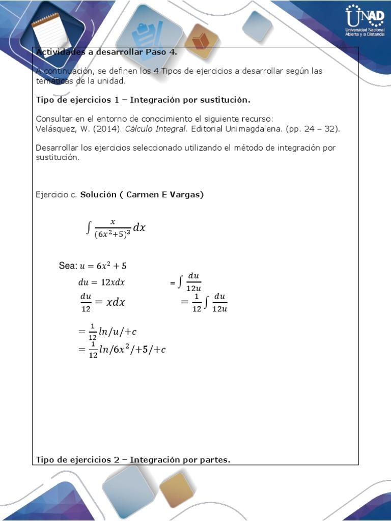 Integracion Por Partes Ejercicios Resueltos Ebook Download