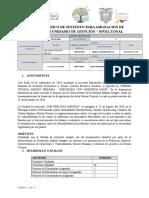 Informe de Creacion Del CNH Perlitas Andinas