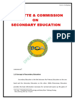 Committe And Commission on Secondary Education