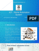 home automation system ppt