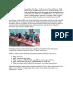 Sosialisasi Pos Pembinaan Terpadu Penyakit Tidak Menular