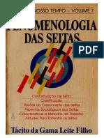 Tácito Da Gama Leite Filho - Fenomenologia Das Seitas
