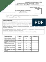 Evaluación de Lenguaje Numero 2 (1)
