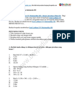 35+ Contoh Soal Latihan UN Matematika SD + Kunci Jawaban (Paket B).docx