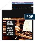 Jazz and Classical—Musical, Cultural, Listening Differences _ NewMusicBox