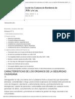 Estructura Organizativa de Los Cuerpos de Bomberos de Conformidad Con La CRBV y La Ley