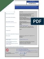 36 CB Test Certificate for Mortor
