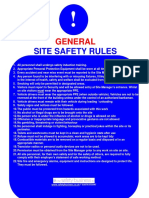 General Site Safety - Sign