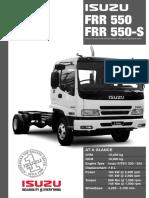 Isuzu FRR550 Specs